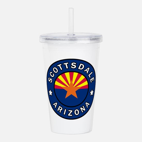 Scottsdale Arizona Acrylic Double-wall Tumbler