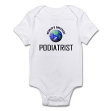 World's Greatest PODIATRIST Infant Bodysuit