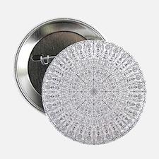 """Large Mandala B&W 2.25"""" Button (10 pack)"""