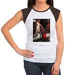Accolade / Eng Springer Women's Cap Sleeve T-Shirt