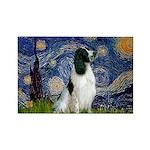Starry / Eng Springer Rectangle Magnet (10 pack)