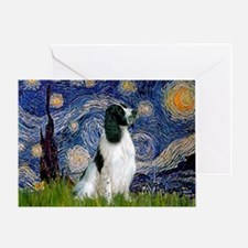 Starry / Eng Springer Greeting Card