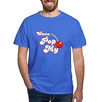 Wana Pop My Cherry? Dark T-Shirt