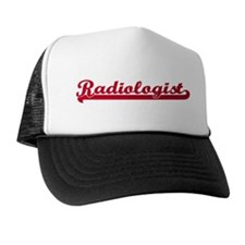 Radiologist (sporty red) Trucker Hat