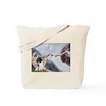 Creation / Eng Springer Tote Bag