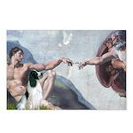 Creation / Eng Springer Postcards (Package of 8)