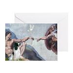 Creation / Eng Springer Greeting Card