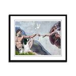 Creation / Eng Springer Framed Panel Print
