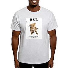 Anti-BSL Bull Sh*t Legislation Design #1 Ash Grey