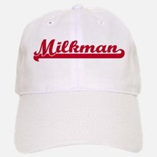 Milkman (sporty red) Baseball Baseball Cap