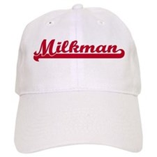 Milkman (sporty red) Baseball Cap