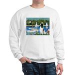 Sailboats / Eng Springer Sweatshirt