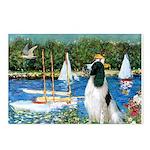 Sailboats / Eng Springer Postcards (Package of 8)