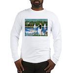 Sailboats / Eng Springer Long Sleeve T-Shirt
