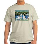 Sailboats / Eng Springer Light T-Shirt