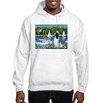 Sailboats / Eng Springer Hooded Sweatshirt
