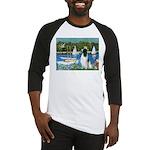 Sailboats / Eng Springer Baseball Jersey