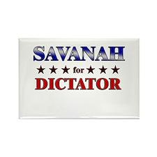 SAVANAH for dictator Rectangle Magnet
