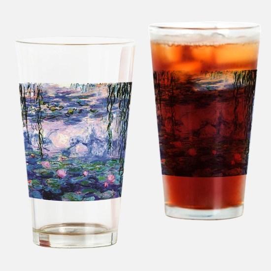 Cool Monet Drinking Glass