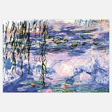 Funny Monet water lilies Wall Art