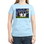 Starry / 2 Eng Springe Women's Light T-Shirt