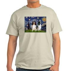 Starry / 2 Eng Springe T-Shirt