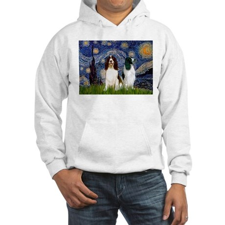 Starry / 2 Eng Springe Hooded Sweatshirt