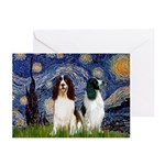 Starry / 2 Eng Springe Greeting Cards (Pk of 20)