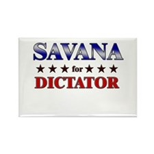 SAVANA for dictator Rectangle Magnet