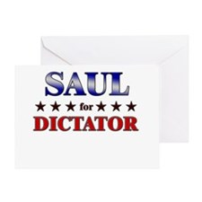 SAUL for dictator Greeting Card