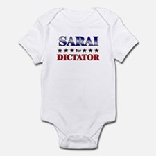 SARAI for dictator Infant Bodysuit