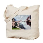 Creation / French Bull Tote Bag