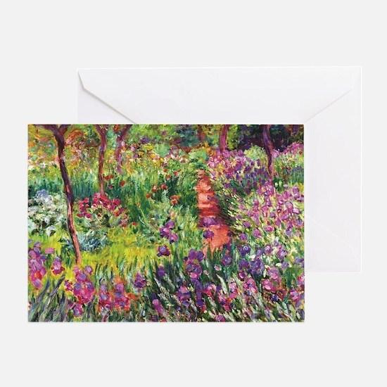 Unique Monet Greeting Card
