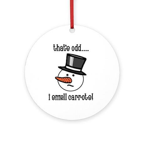 That's odd.... Ornament (Round)