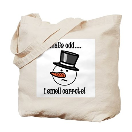 That's odd.... Tote Bag