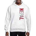 Nepal Stamp Hooded Sweatshirt
