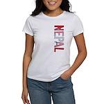 Nepal Stamp Women's T-Shirt