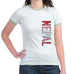 Nepal Stamp Jr. Ringer T-Shirt