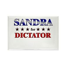 SANDRA for dictator Rectangle Magnet