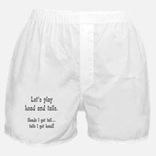Head and Tails Boxer Shorts