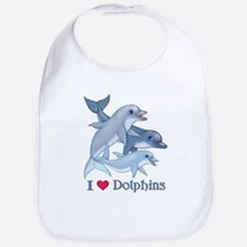 Dolphin Family and Text Bib