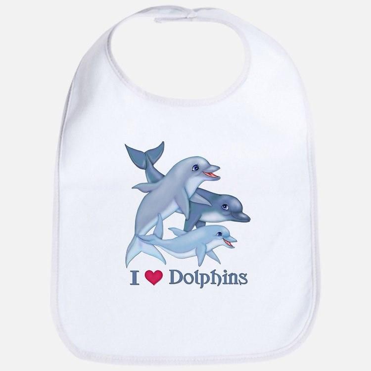 Dolphin Family and Text Bib