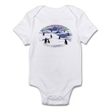 Chimp Christmas Infant Bodysuit