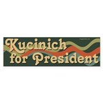 Groovy Kucinich 2008 Bumper Sticker