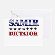 SAMIR for dictator Greeting Card