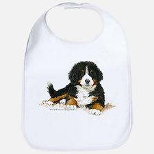 Funny Bernese mountain dog puppy Bib