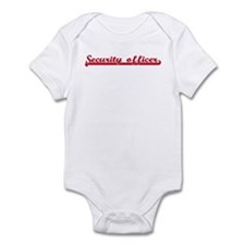 Security officer (sporty red) Infant Bodysuit