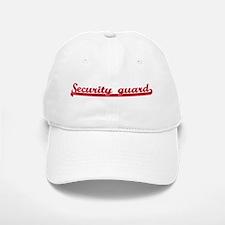 Security guard (sporty red) Baseball Baseball Cap