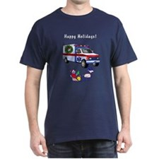 EMS Happy Holidays Greetings T-Shirt