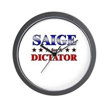SAIGE for dictator Wall Clock